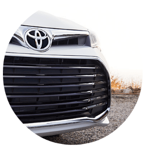 2016 Toyota Avalon front grille design