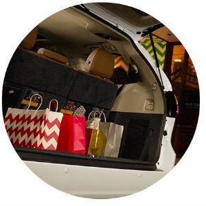 2016 Toyota Sienna cargo capacity