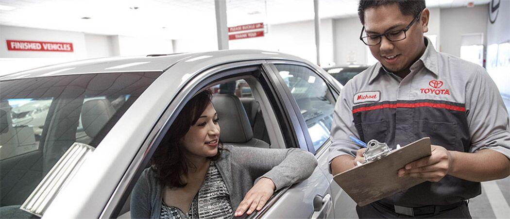 Genuine Toyota service in Lafayette, IN