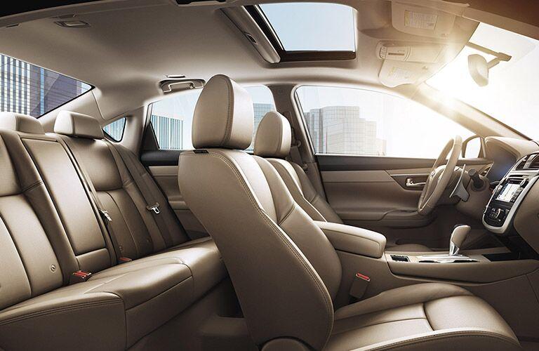2017 Nissan Altima passenger space