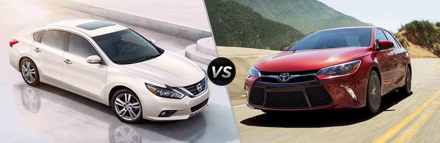 2017 Nissan Altima vs 2017 Toyota Camry