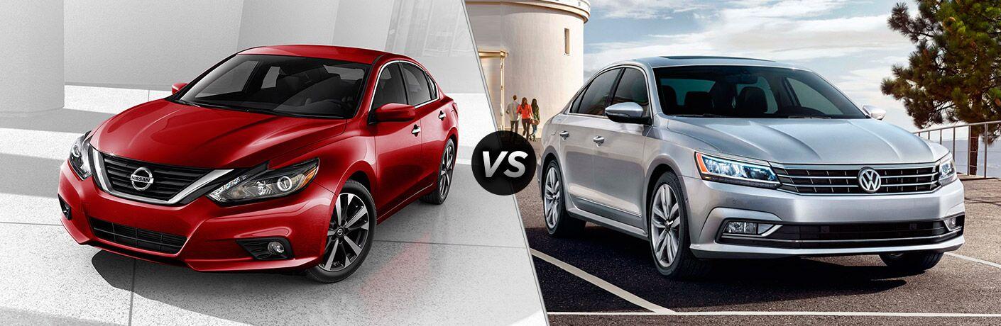 2017 Nissan Altima vs 2017 Volkswagen Passat