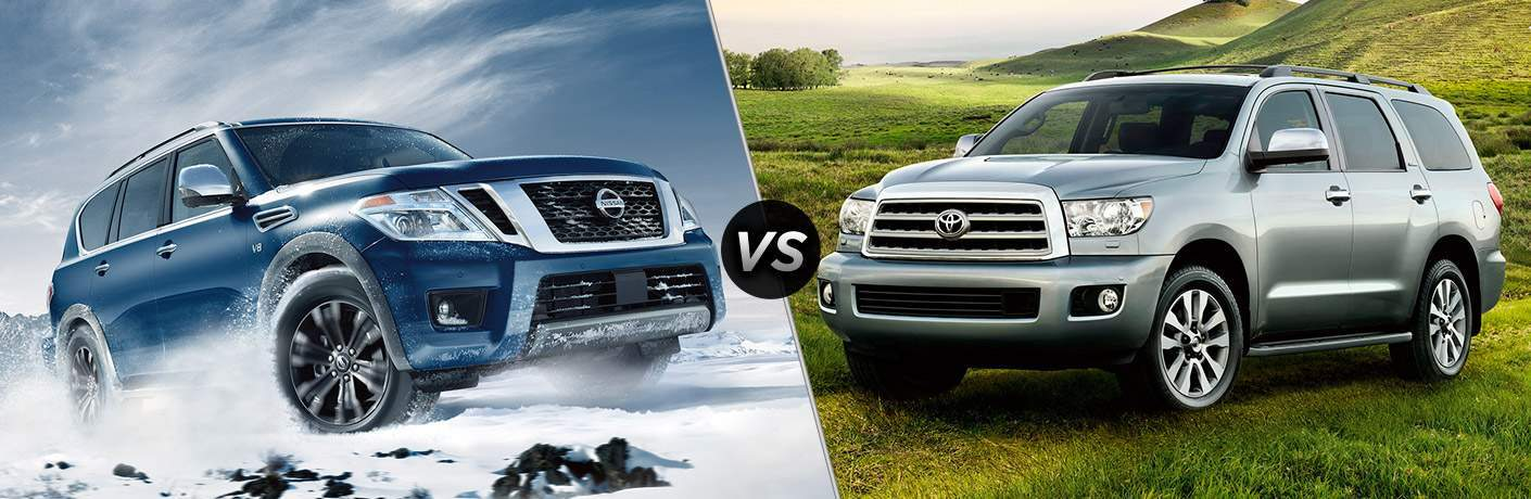 2017 Nissan Armada vs 2017 Toyota Sequoia