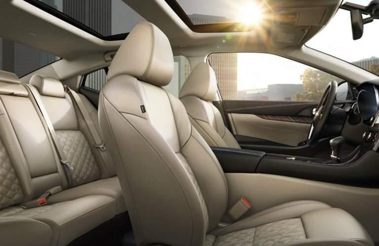 2017 Nissan Maxima interior side profile