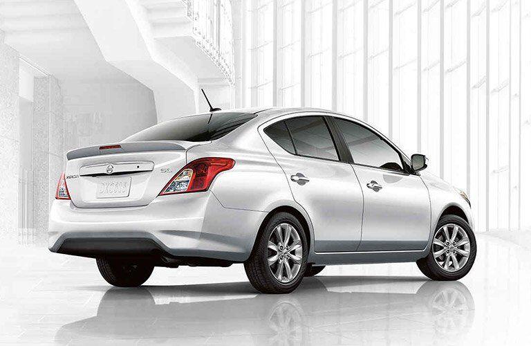 2017 Nissan Versa Kenosha WI White Exterior