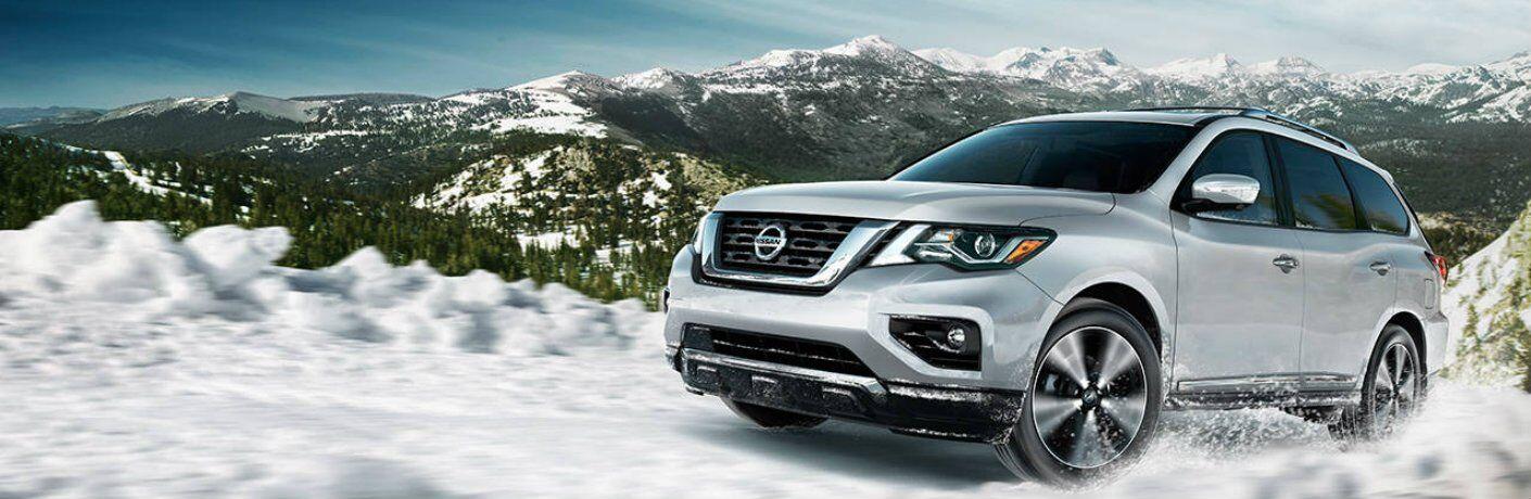 Reserve a 2017 Nissan Pathfinder in Kenosha WI
