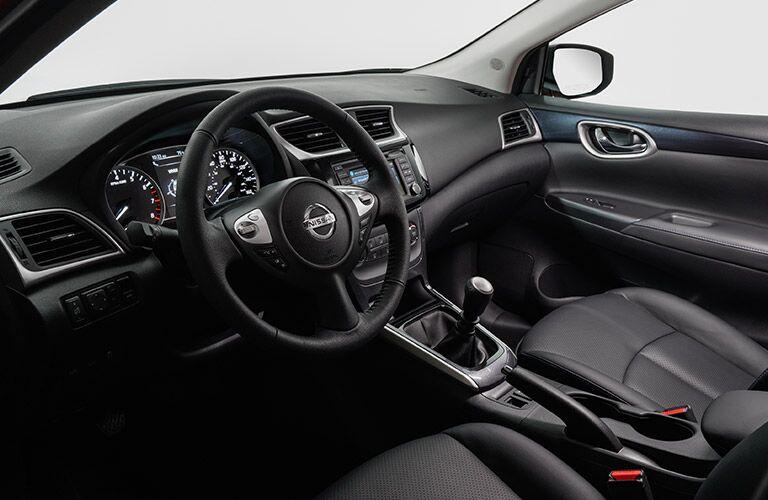 2017 Nissan Sentra front legroom