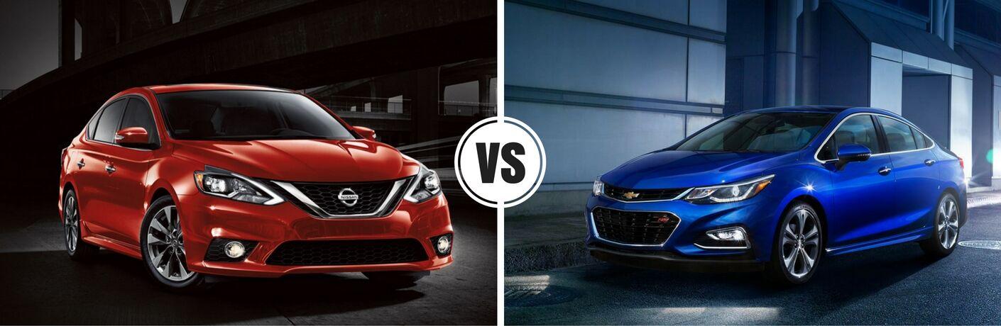 2017 Nissan Sentra vs 2017 Chevy Cruze
