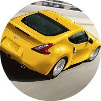2017 nissan 370z coupe in yellow