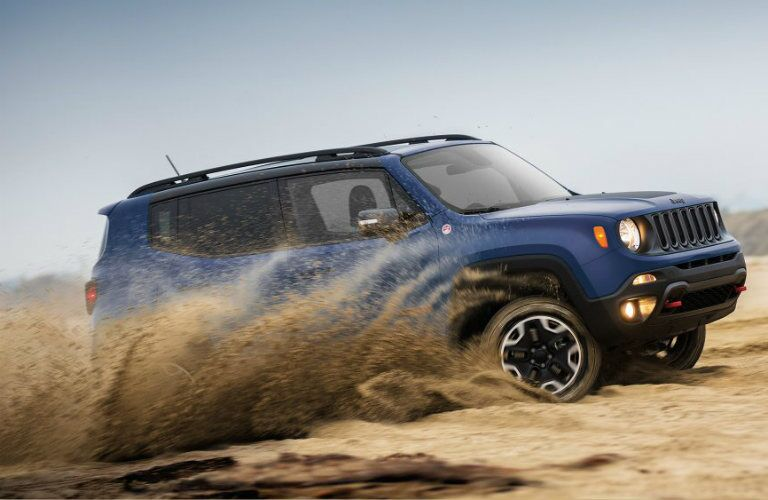 test drive the 2017 jeep renegade in mansfield oh