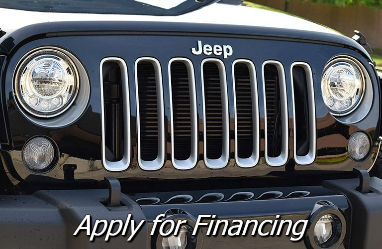 where can i finance a jeep wrangler in mansfield OH?