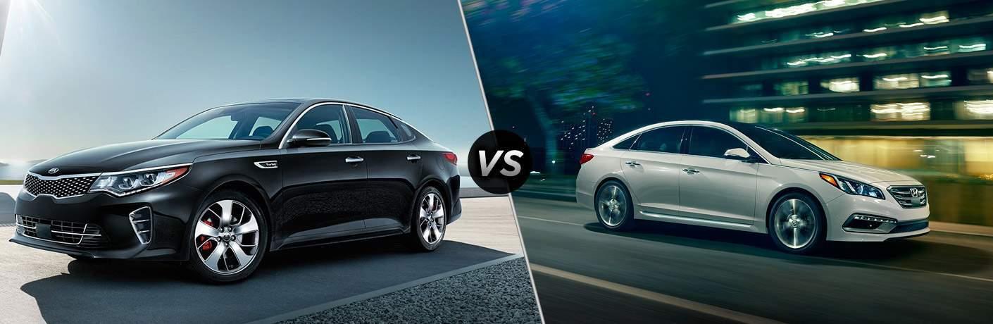 2017 Kia Optima vs 2017 Hyundai Sonata