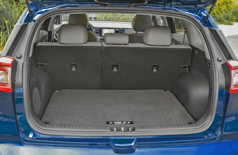 There is lots of room for cargo in the 2017 Niro