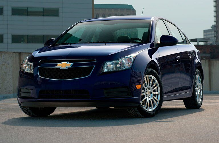Used Chevy Cruze front view