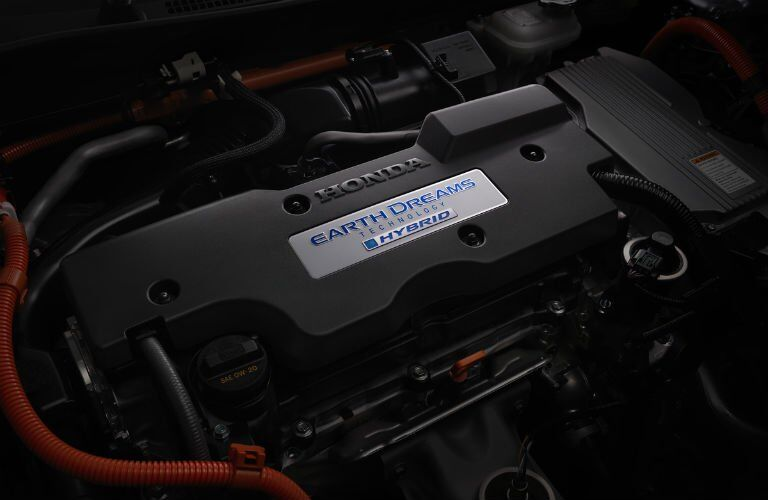 2017 Honda Accord Hybrid power source