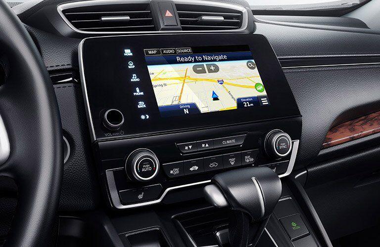 2017 Honda CR-V Touring infotainment screen