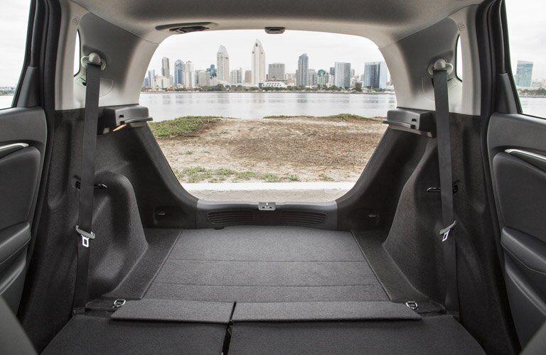 2017 Honda Fit trunk space