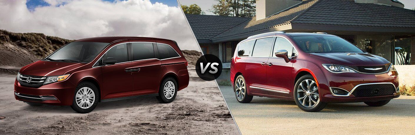 2017 Honda Odyssey vs 2017 Chrysler Pacifica