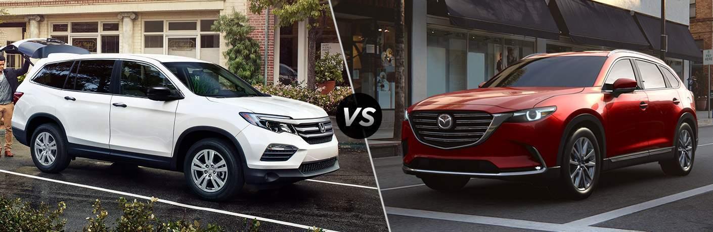 2017 Honda Pilot vs. 2017 Mazda CX-9