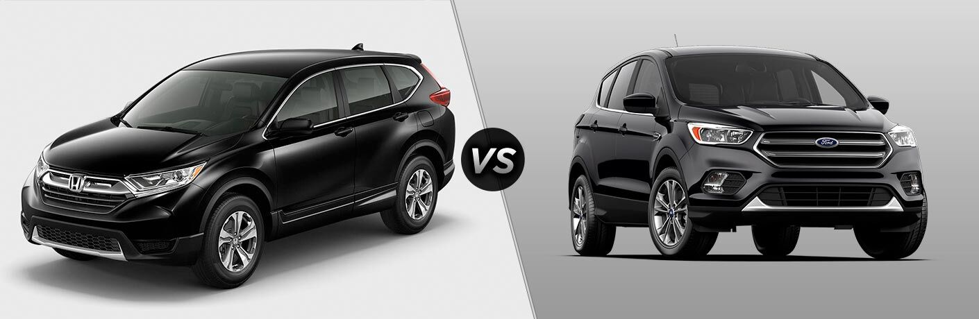 2017 Honda CR-V vs. 2017 Ford Escape