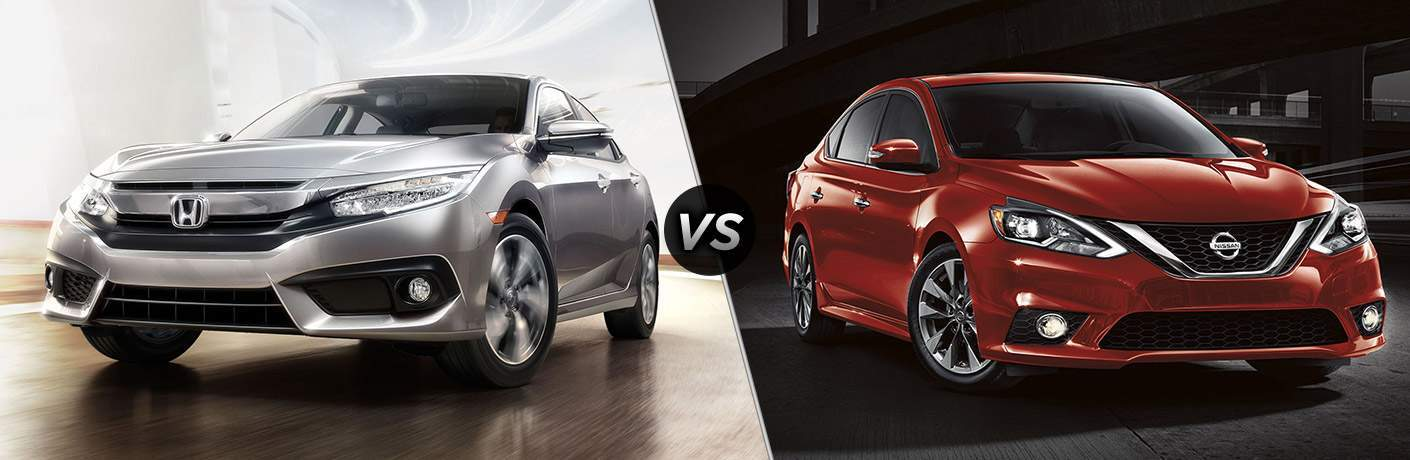 2017 Honda Civic Sedan vs 2017 Nissan Sentra