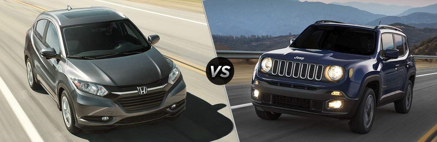 2017 Honda HR-V vs 2017 Jeep Renegade