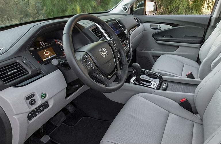 2017 Honda Ridgeline front seat