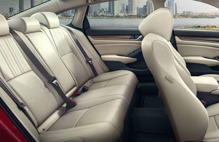 2018 Honda Accord Sedan seating