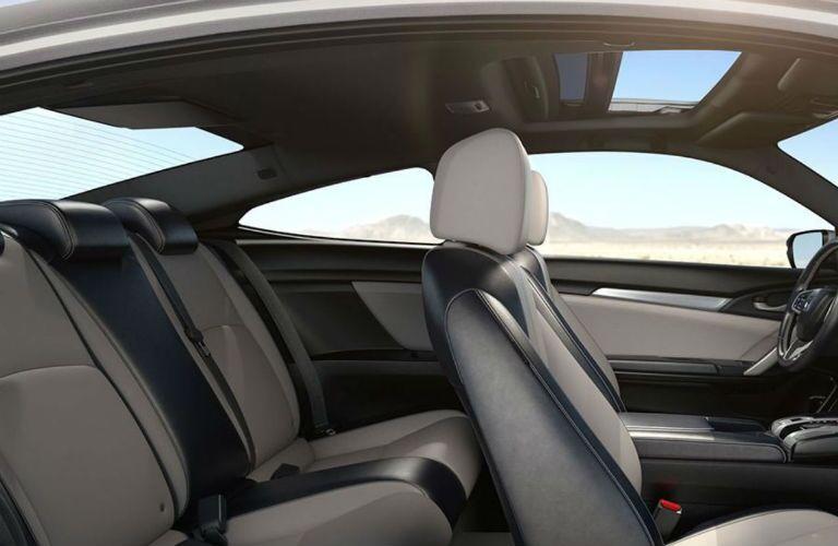 2018 Honda Civic Coupe premium seating
