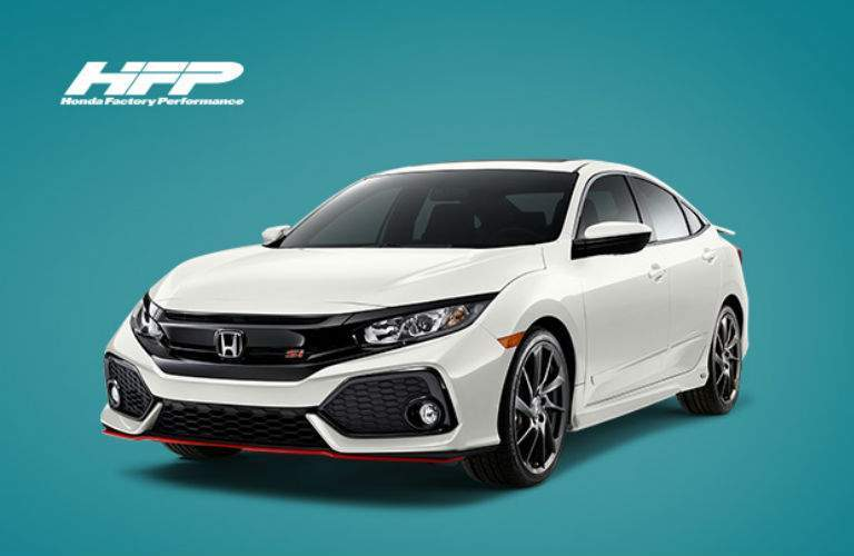 2018 Honda Civic Hatchback Honda Factory Performance Accessories package