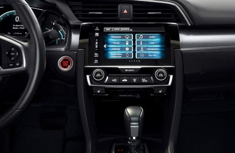 2018 Honda Civic Sedan infotainment system