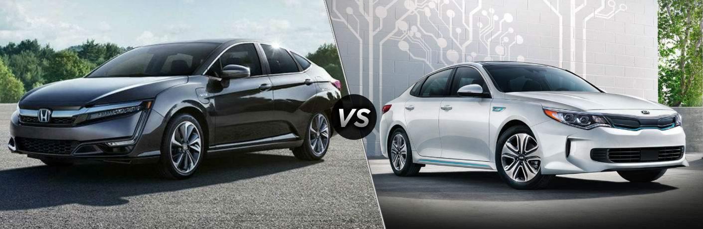 2018 Honda Clarity Plug-in Hybrid vs 2018 Kia Optima Plug-in Hybrid