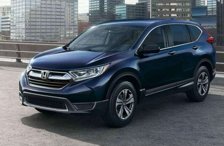 2018 Honda CR-V parked in the city