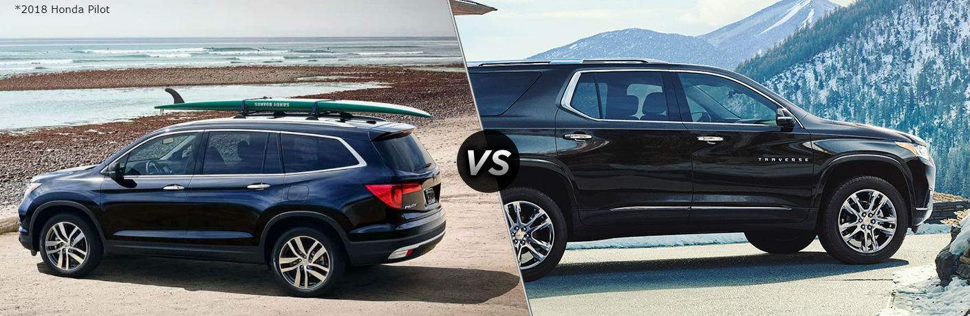 2018 Honda Pilot vs 2018 Chevy Traverse