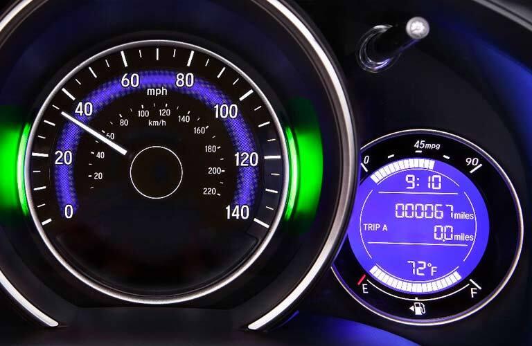 2017 Honda Fit gauge cluster