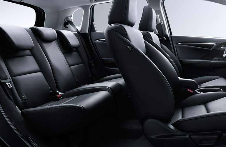 2017 Honda Fit front and back seat