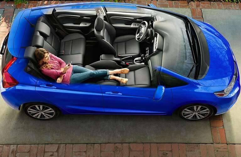 2017 Honda Fit interior room