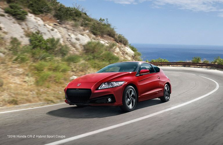 2016 CR-Z Milano Red