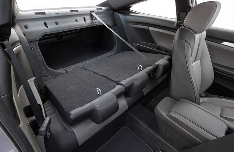 2017 Honda Civic Coupe rear folding seats cargo