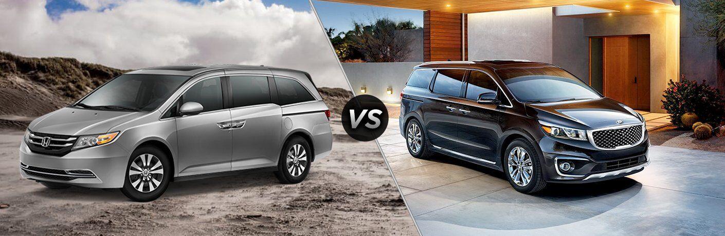 2017 Honda Odyssey vs 2017 Kia Sedona