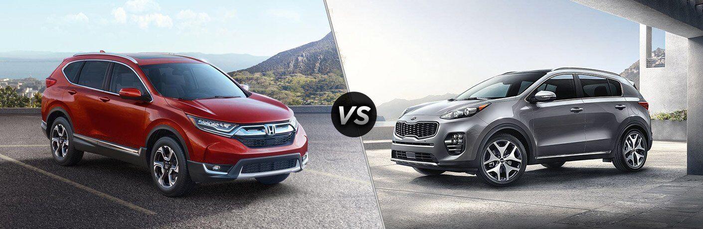2017 Honda CR-V vs 2017 Kia Sportage