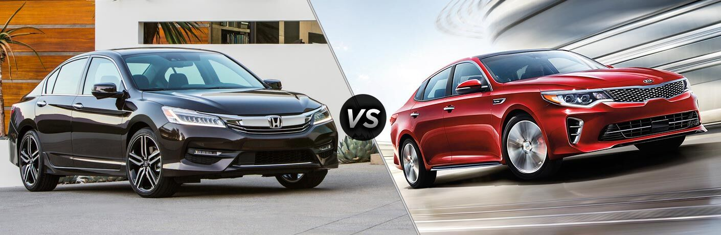 2017 Honda Accord Sedan vs 2017 Kia Optima