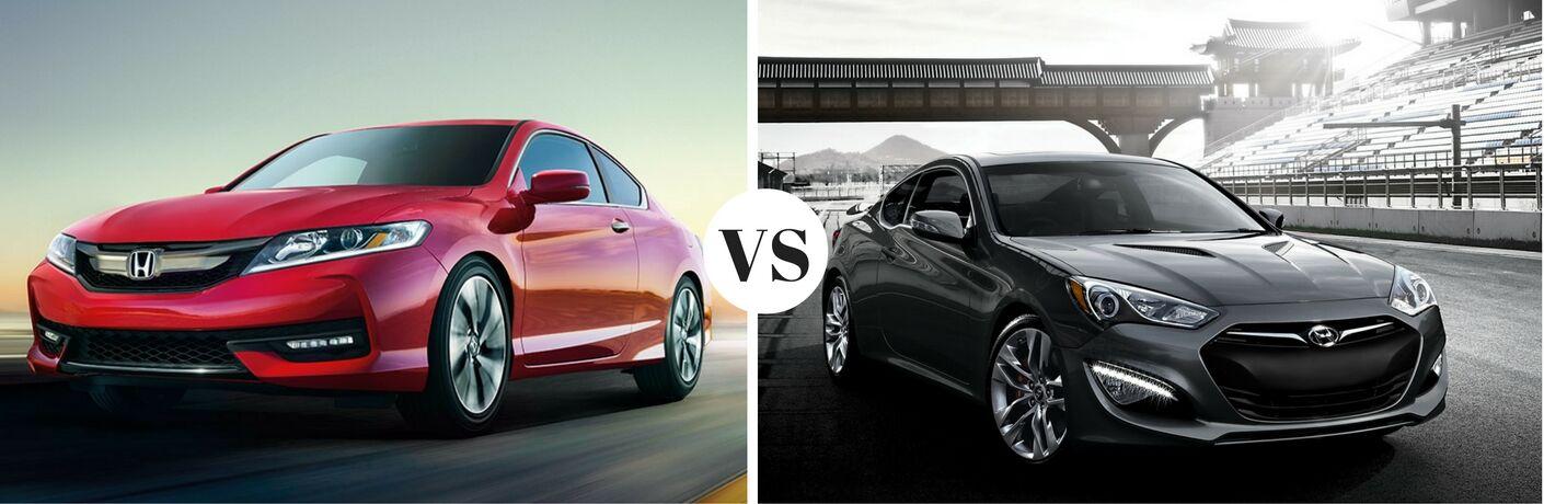 2017 Honda Accord Coupe  vs 2017 Hyundai Genesis