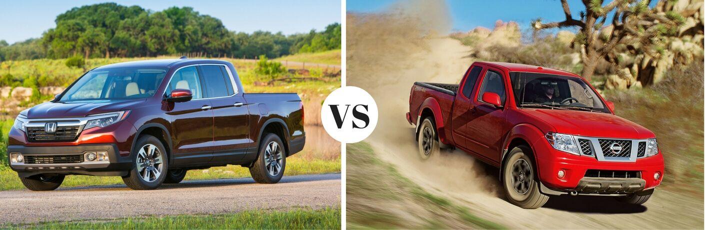 2017 Honda Ridgeline vs 2016 Nissan Frontier