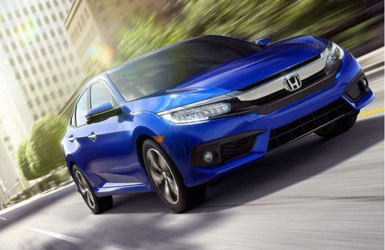 2017 Honda Civic Sedan driving