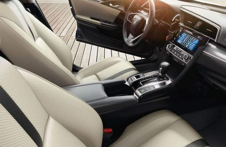 2017 Honda Civic Sedan interior front