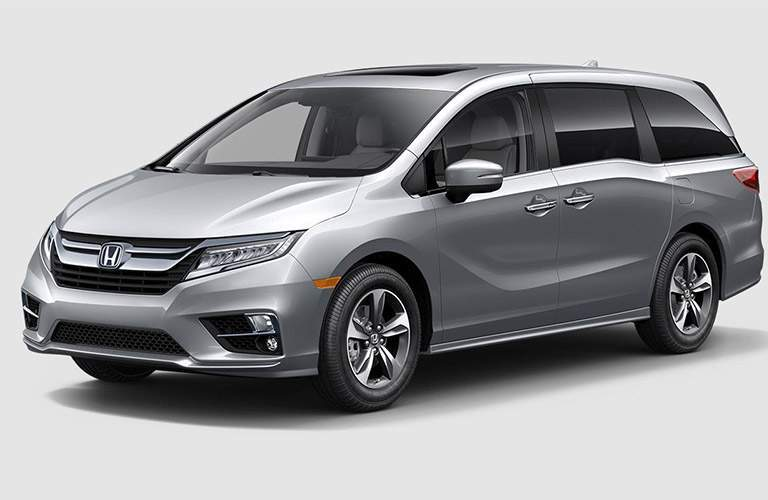 2018 Honda Odyssey Touring in the spotlight