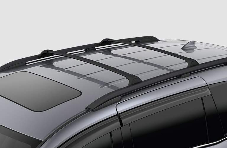 Roof racks on the 2018 Honda Odyssey Touring
