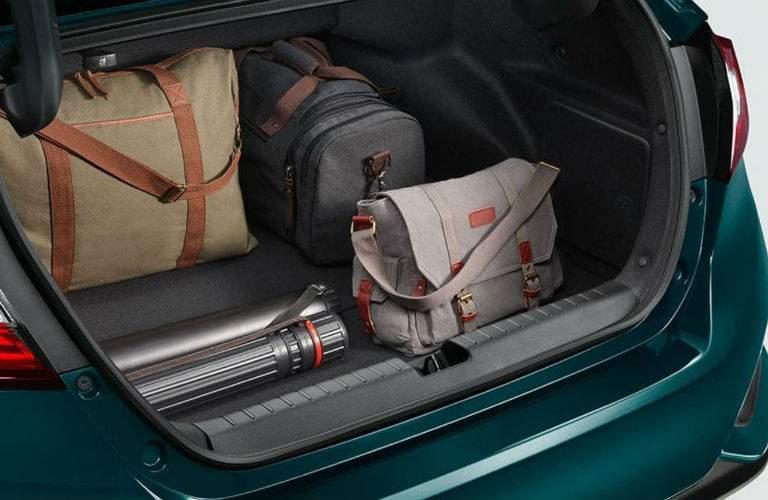 2018 Honda Clarity Plug-in Hybrid trunk space