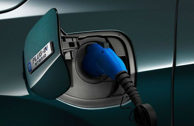 2018 Honda Clarity Plug-in Hybrid charging port
